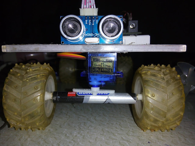 Android Mobile Controlled Arduino robot