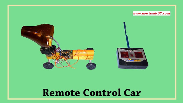 Home Made Remote Control Jet Car In Hindi