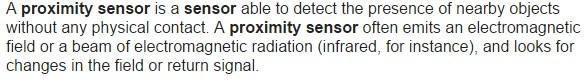 Introduction And Working of proximitysensor