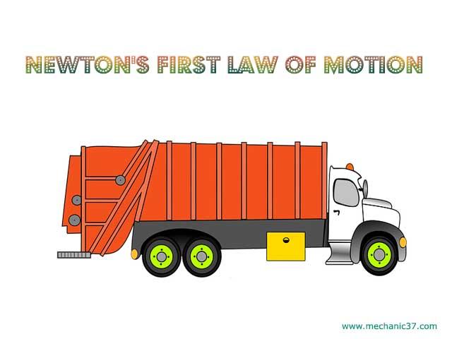 Newton के गति का पहला नियम क्या है