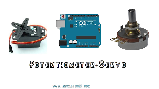 potentiometer and servo