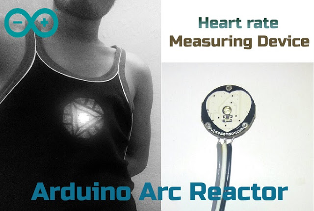 Arduino Arc reactor device Heart V1