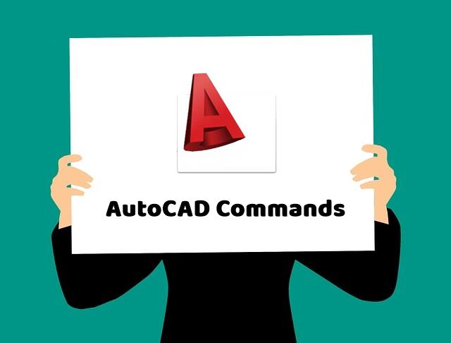 AutoCAD Commands की commands in hindi