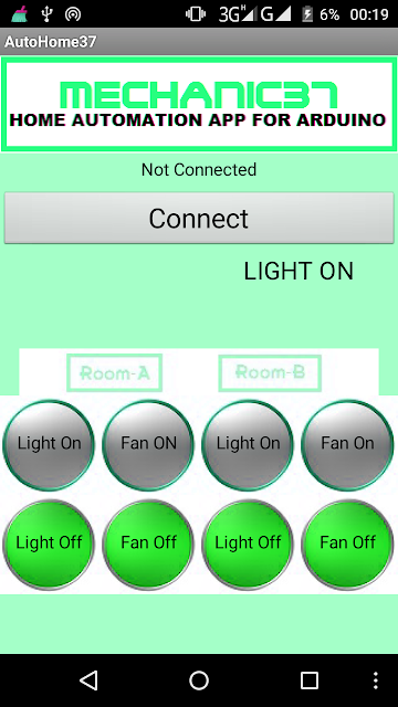 home automation android app