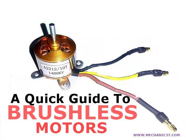 Brush less Dc Motor बिना brush के motor है यह high speed से रन होती है