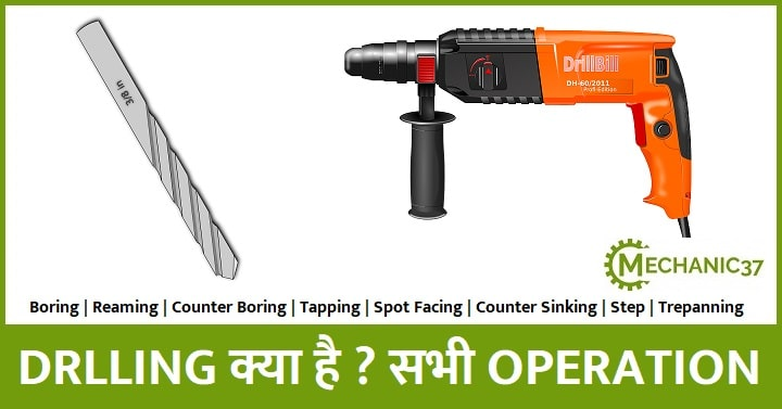 Drilling meaning in hindi