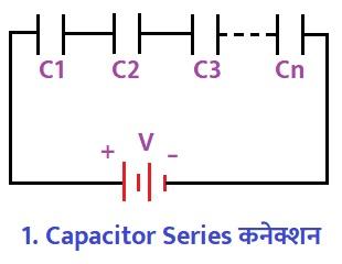 Capacitor Series कनेक्शन